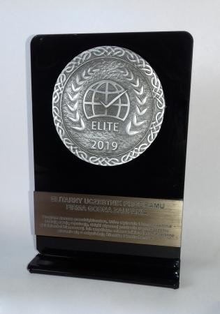 Statuetka Firma Godna Zaufania Elite 2019 r.