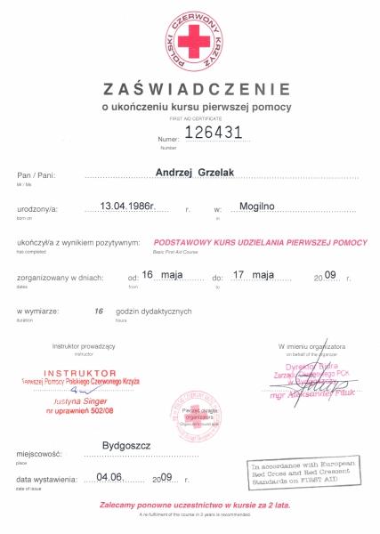 Szkolenie Polskiej Rady Resuscytacji