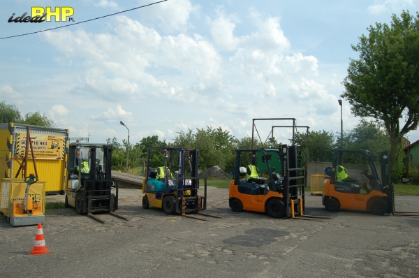 Kurs na wózki widłowe w Mogilnie